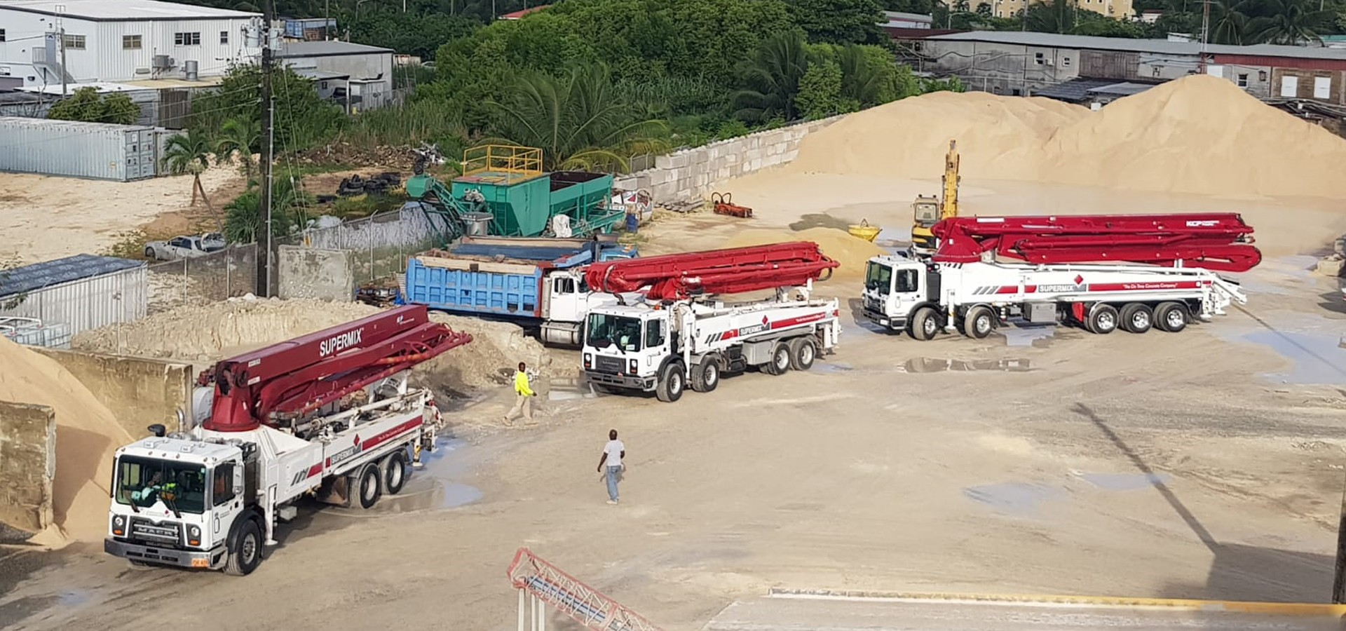 Ready Mix Concrete solutions in the Cayman Islands